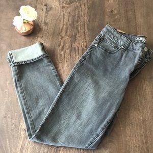 NWT American Eagle Hi Rise Skinny Jeans Sz 12